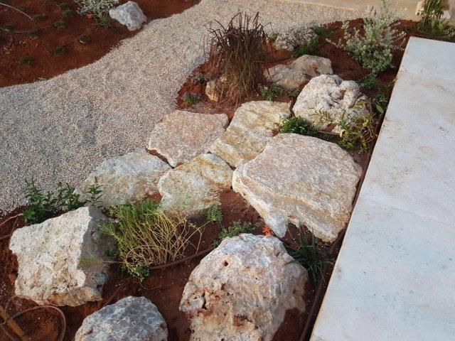 בניית גדרות ומסלעות