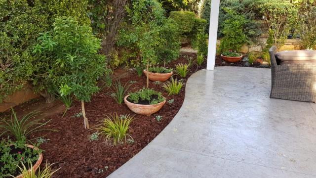 הקמת גינה פרטית בבת חפר