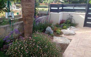 ריצוף חוץ מאבן טבעית לגינה